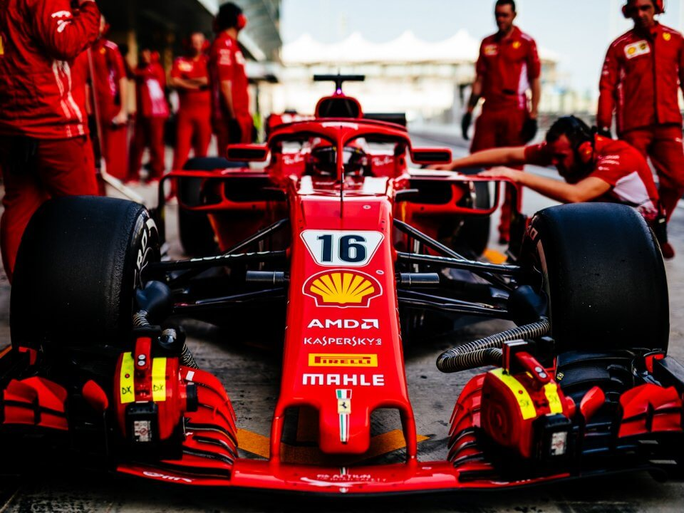 Charles Leclerc Driver Scuderia Ferrari F1 Team